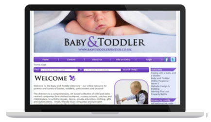 Baby and Toddler website