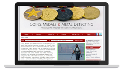 Coins, Medals and Metal Detecting