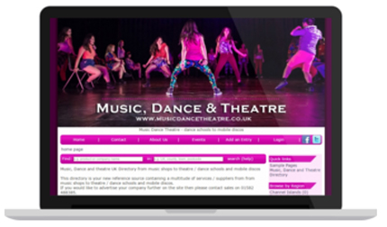 Music, Dance and Theatre Directory